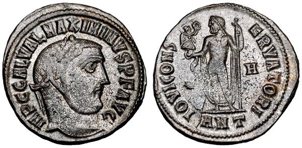 Монета Максимина Дазы