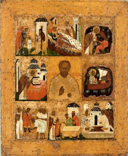 Этот тип иконы называется Никола Великорецкий