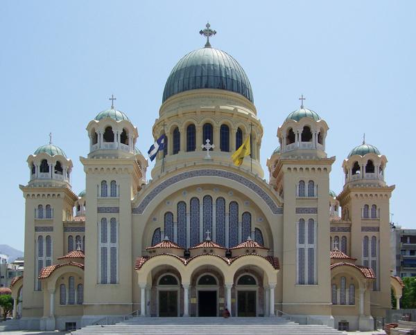 Собор Андрея Первозванного в городе Патры
