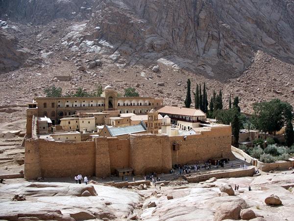 Екатерининский монастырь у горы Синай