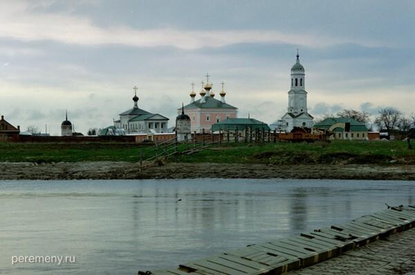 Николо-Чернеевский монастырь в Рязанской области. Фото Олега Давыдова