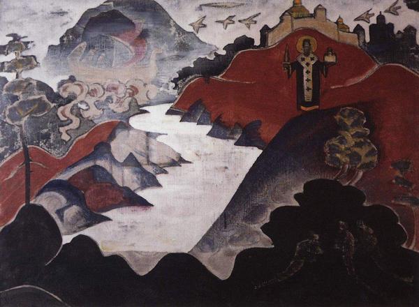 Никола Можайский. Картина Николая Рериха