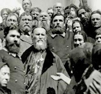 Иоанн Кронштадский с народом