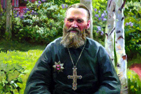 Портрет Иоанна Кронштадского