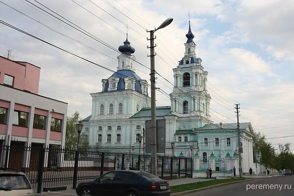Курск. С колокольни этой церкви упал Прохор Мошнин. Фото Олега Давыдова