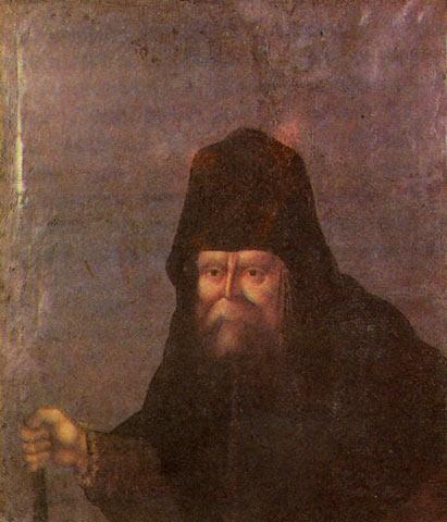 Прижизненный портрет Серафима
