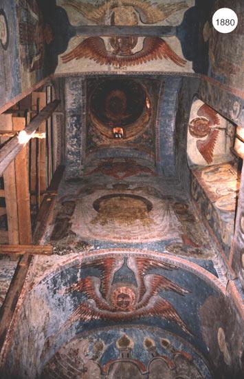 Внутренняя роспись Троицкого собора Клопского монастыря