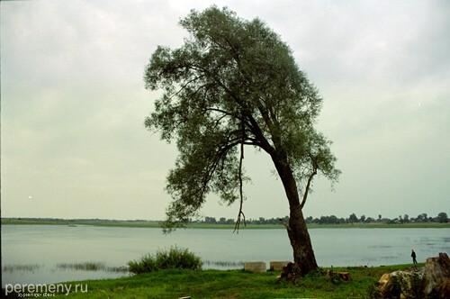 Река Веряжа около Клопского монастыря