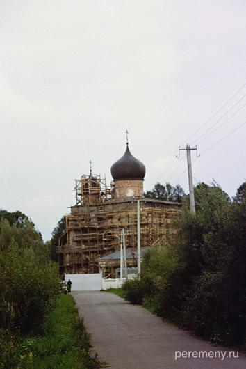 Клопский монастырь, Новгородская область. Фото Олега Давыдова