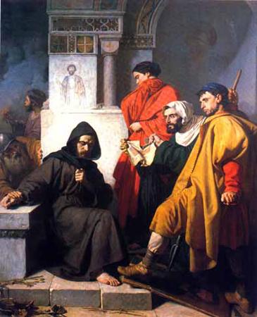 Иконоборцы (картина Доменико Морелли, XIX век)