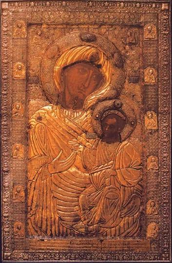 Иверская Богородица с Афона