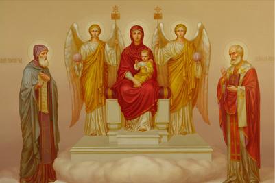 Явление Богородицы Александру Свирскому