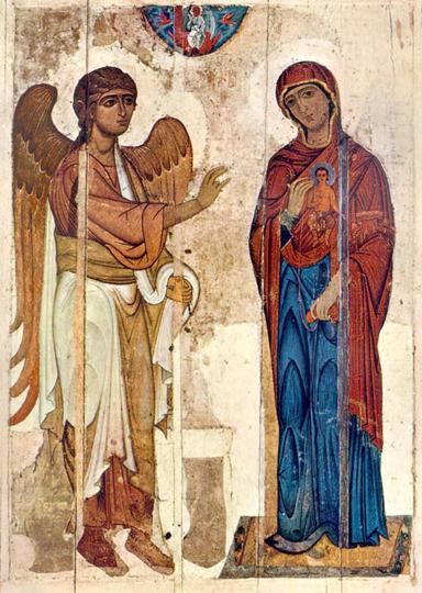 Устюжское Благовещение, начало XII века