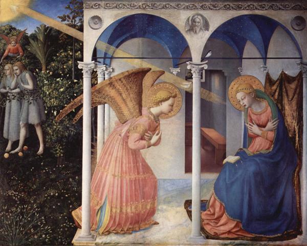Фра Беато Анжелико. Благовещение, 1430—1432