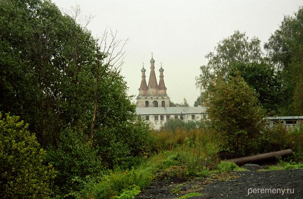 Троицкая часть Александро-Свирского монастыря. Фото Олега Давыдова