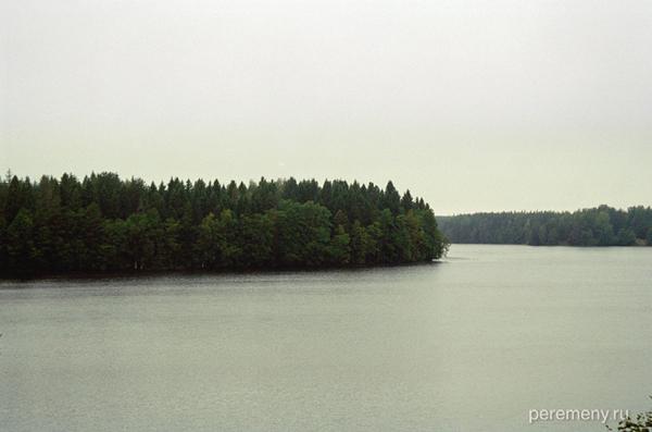 Рощинское озеро. Фото Олега Давыдова