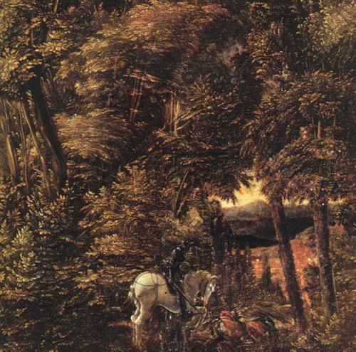 Альбрехт Альтдорфер. Святой Георгий и дракон