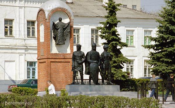 Памятник Неизвестному солдату в Ельце. Фото Олега Давыдова