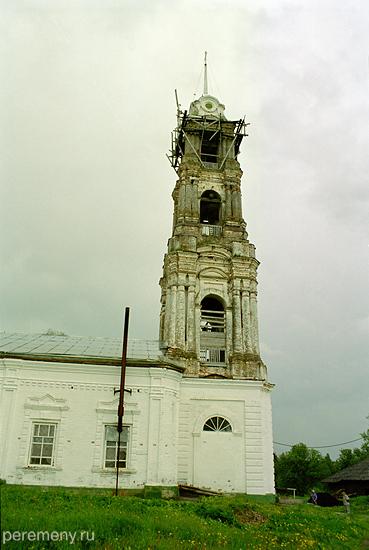 Благовещенская церковь Монзенского монастыря. Фото Олега Давыдова