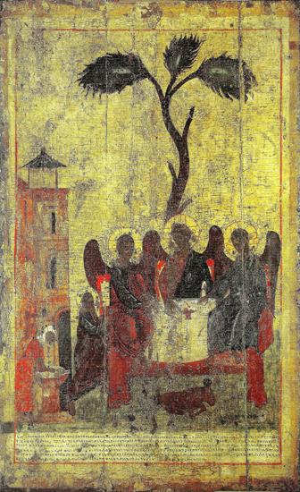 Зырянская Троица. Написана Стефаном Пермским