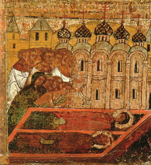 Петр и Феврония в общем гробу