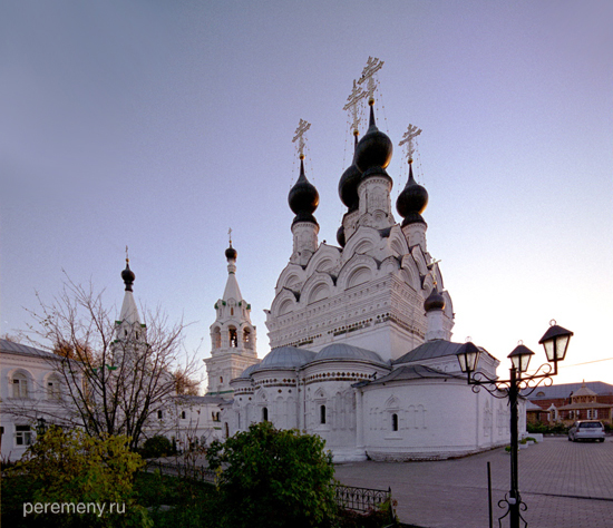 Троицкий монастырь в Муроме. Здесь в общем гробу покоятся Петр и Феврония. Фото Олега Давыдова