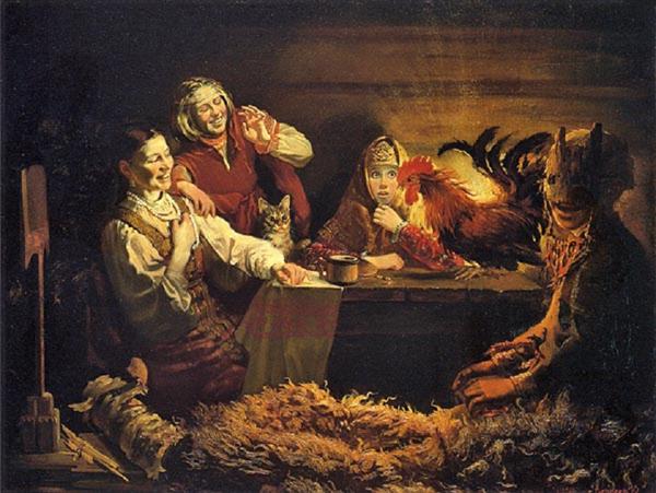 Юрий Сергеев. Гадание на святки