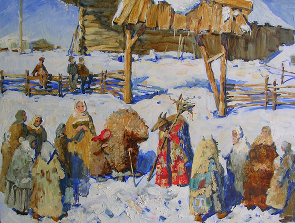 Мария Павлова. Зимний праздник
