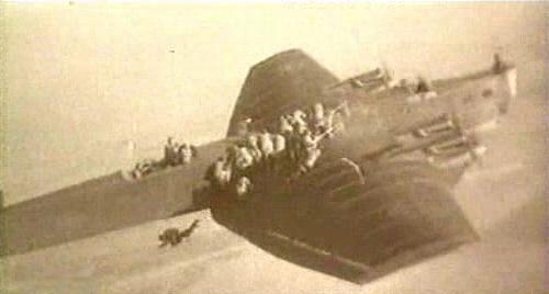 Десантирование с самолета ТБ-3