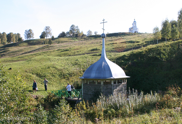 Ильинский источник. Калужская область. Фото Олега Давыдова