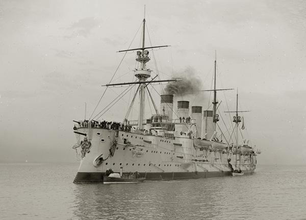 Океанский броненосный крейсер Громобой. Громобоем называли Ильин день