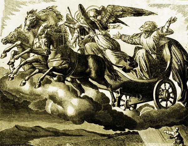 Илья Пророк на своей колеснице
