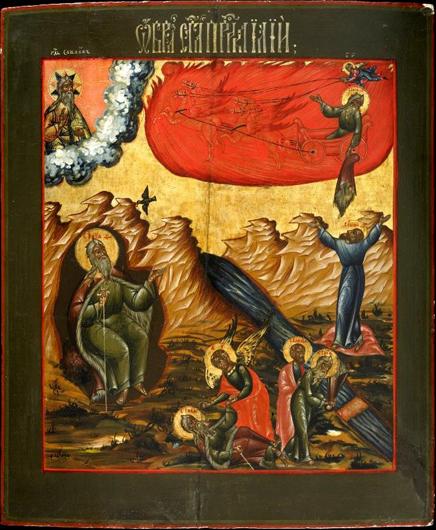 Илья Пророк. Русская икона