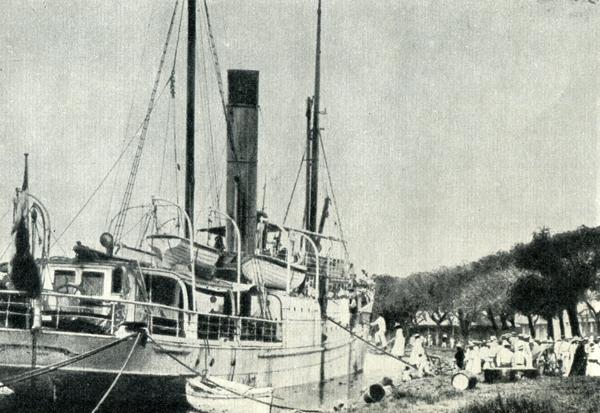 58.                     Вместе с двадцатью шестью другими пассажирами Гоген 10 сентября 1901 г. в порту Папеэте поднялся на борт роскошного парохода «Южный крест», решив навсегда поселиться «на примитивном людоедском острове» в Маркизском архипелаге.