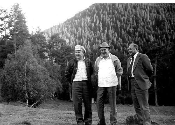 Горбачев и Андропов
