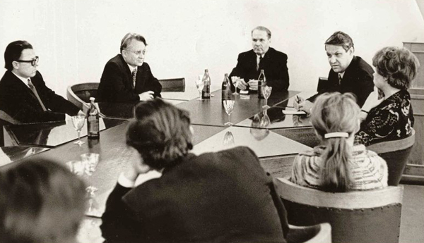 Ельцин с товарищами
