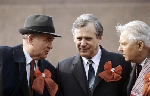 Горбачев, Рыжков, Лигачев