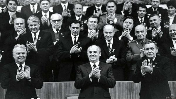 Лигачев, Горбачев, Громыко и другие товарищи