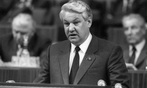 Борис Ельцин выступает на XIX партконференции