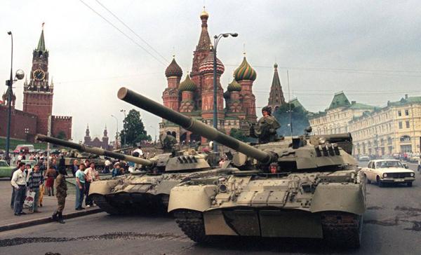 19 августа 1991 года. Танки в Москве