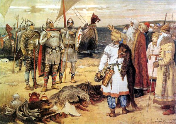 Призвание варягов. Виктор Васнецов