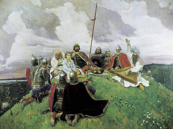 Виктор Васнецов. Баян