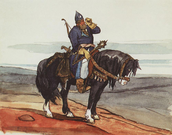 Виктор Васнецов. Витязь на коне