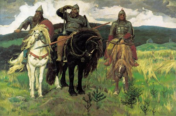 Виктор Васнецов. Три богатыря