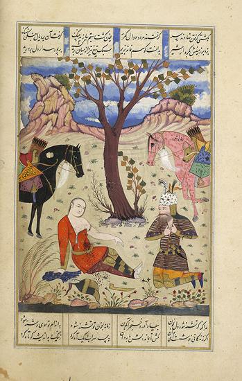 Рустам и Сухраб