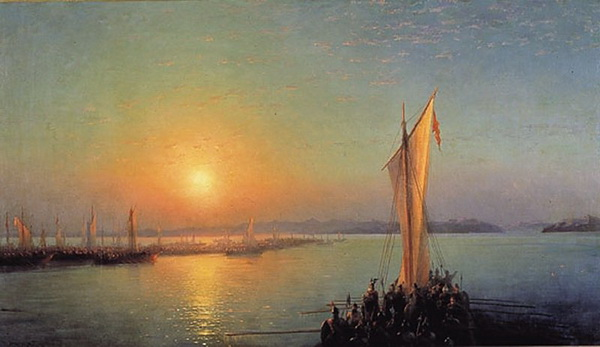 Иван Айвазовский. Варяжская сага. 1876 год