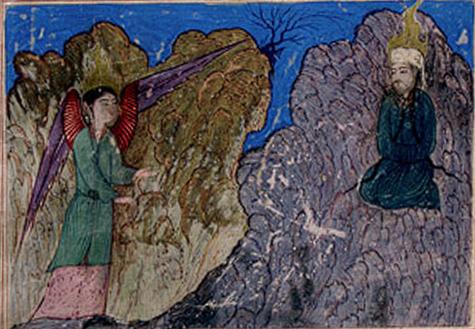 Явление ангела Джабраила и Откровение Пророку