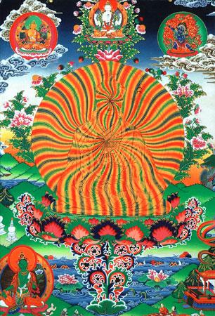 Гуру Ринпоче в радужном теле