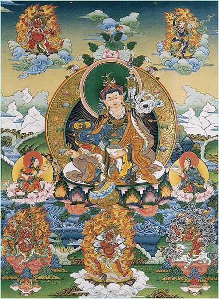 В представлении буддистов школы ламаизма другое (четвертое?) измерение выглядит примерно так