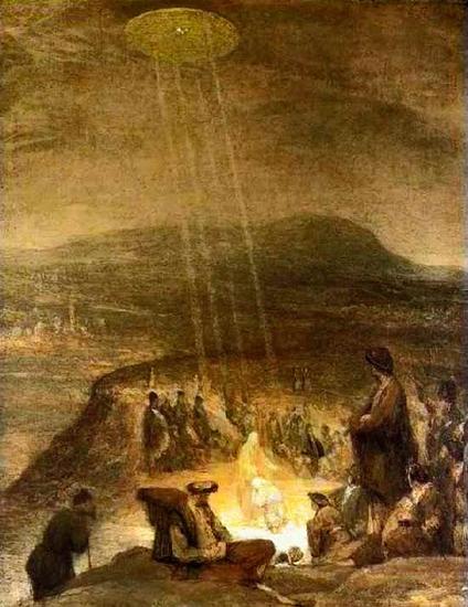 Аэрт де Гельдер, один из последних учеников Рембрандта, Картина Baptism of Christ написана в 1727 году
